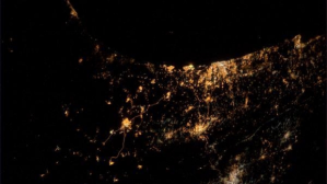 Astronaut Alexander Gerst shows Gaza war in 'saddest' photo from space